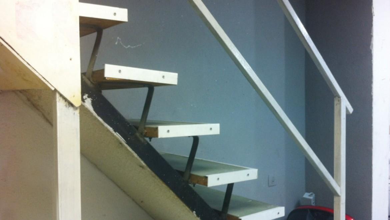 ליקוי בניה, מדרגות